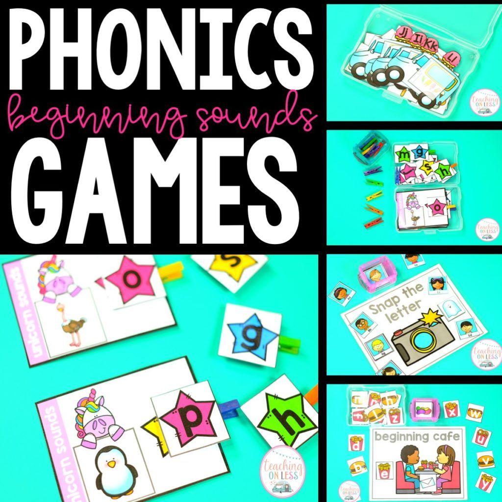 Beginning Sounds Phonics Games