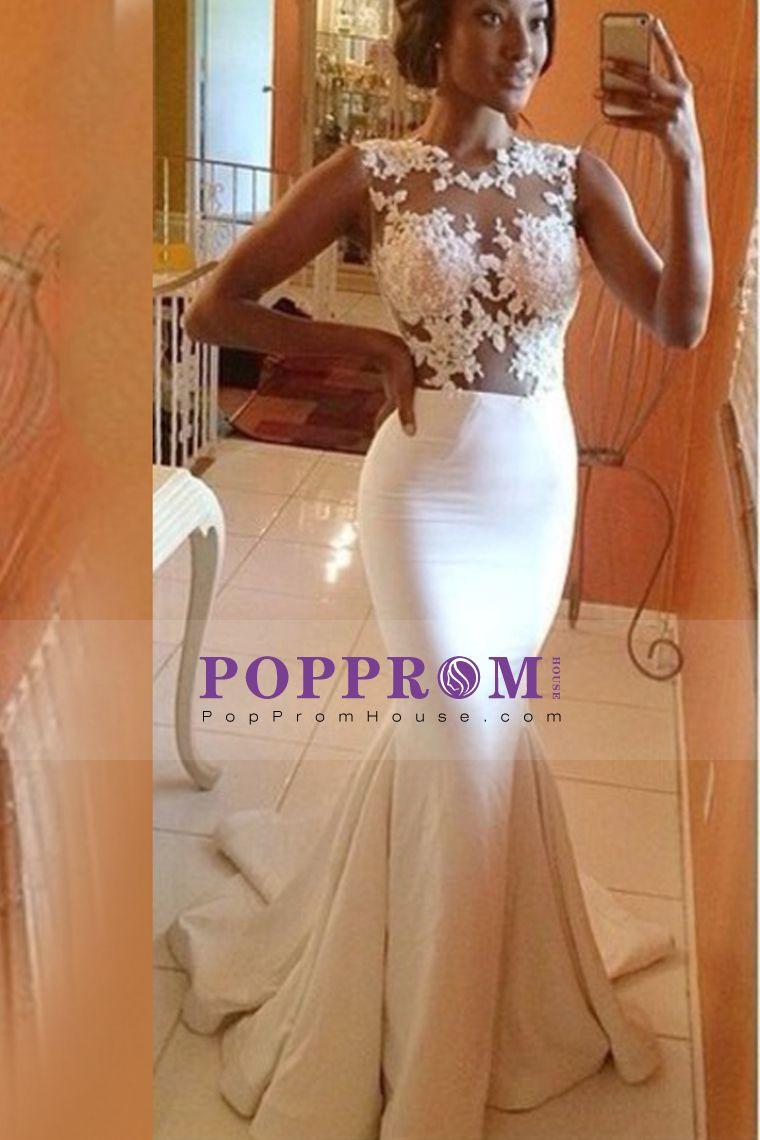 Trumpet Prom Dress 2015