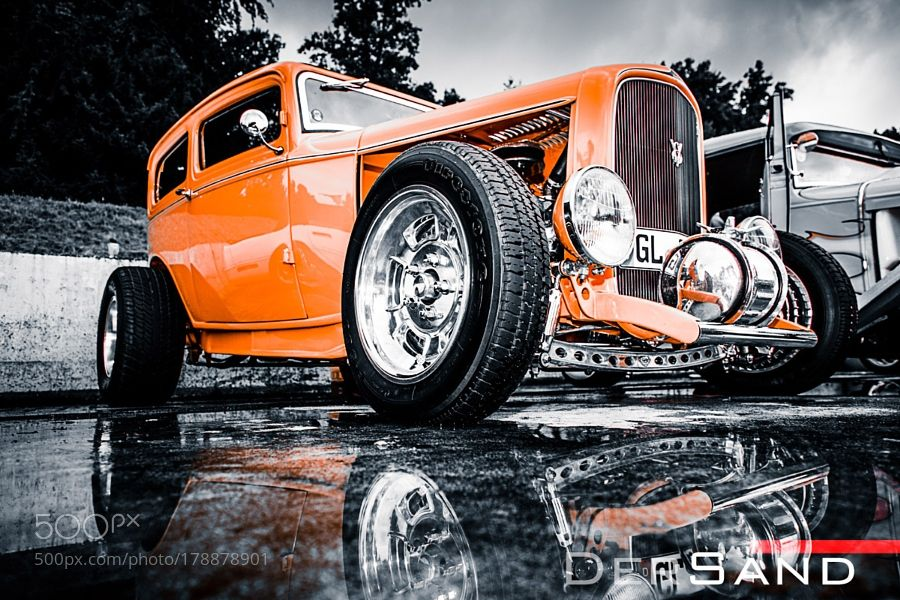 Orange by der_sand with retrocarvintageclassicfordcustomclassic carhot rodautomobilerat rodhotrodcar show