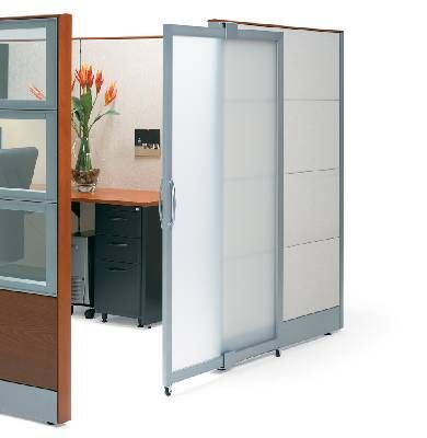 Modern Office Doors | BiNA Office Furniture » About Cubicles And Panel  Systems » Manhattan .