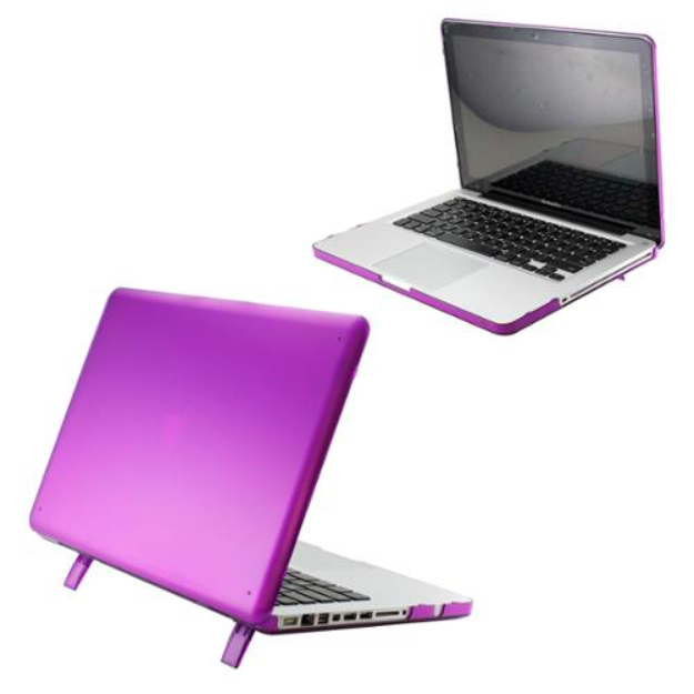 I'm learning all about Purple Matte Transparent Hard PC