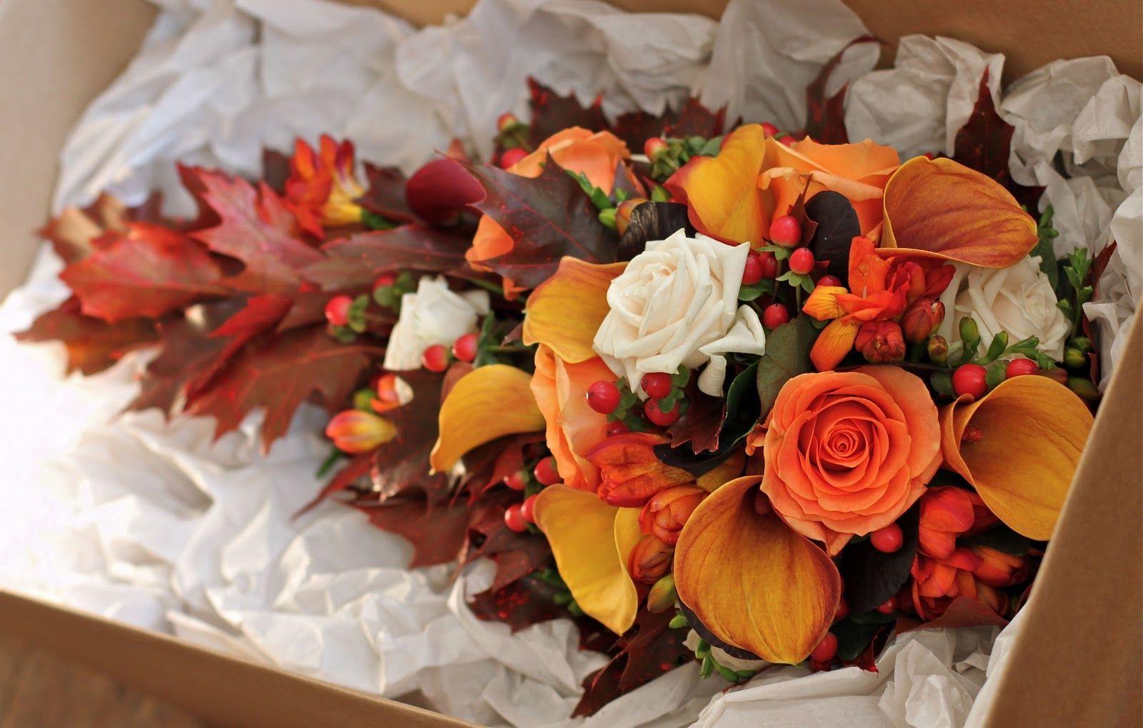 Fall Wedding Flower Arrangement Wedding Flowers Blog Alisons