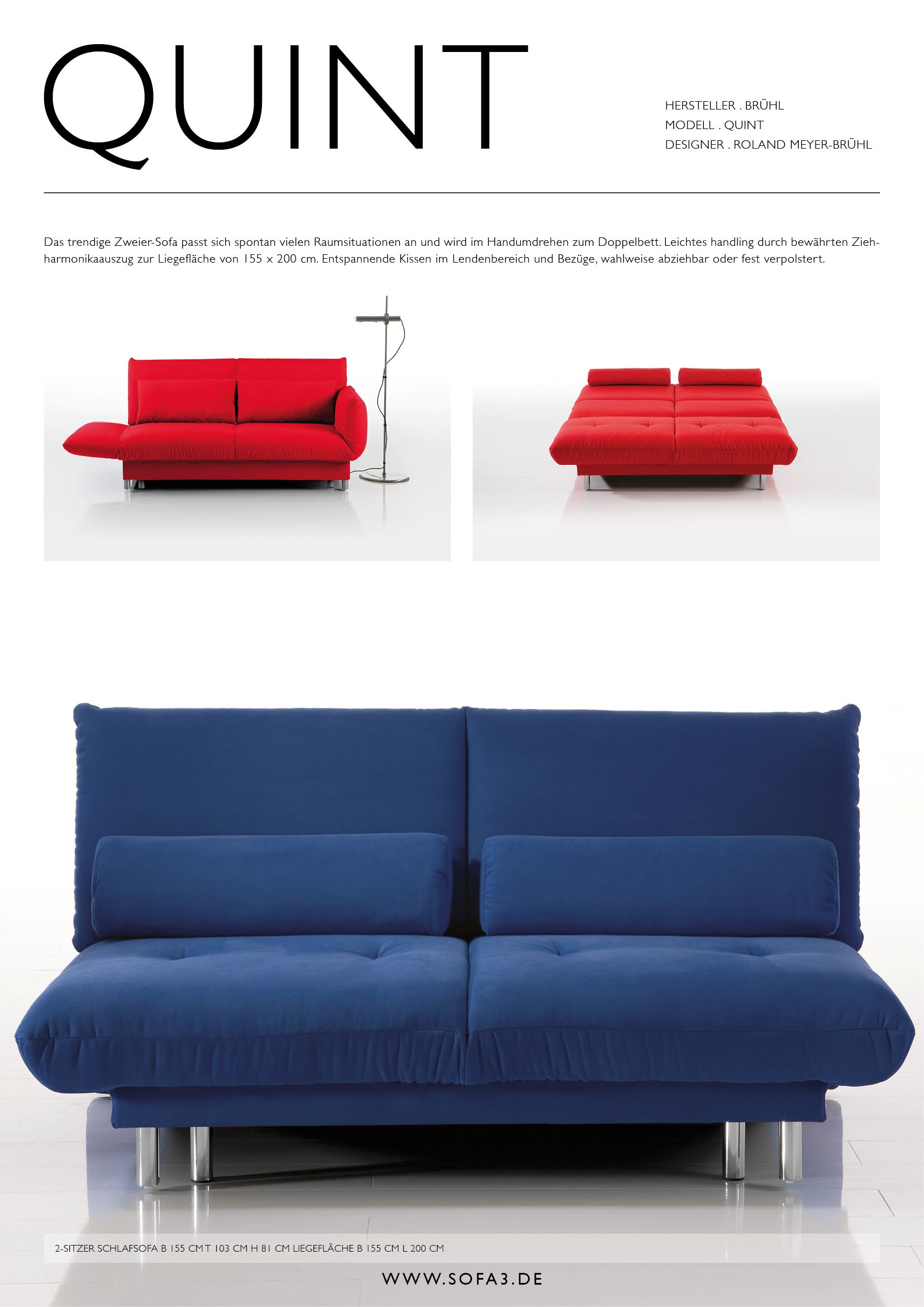 Quint Bruhl Bruehl Roland Meyer Bruhl Sofas Sofa Sofa3