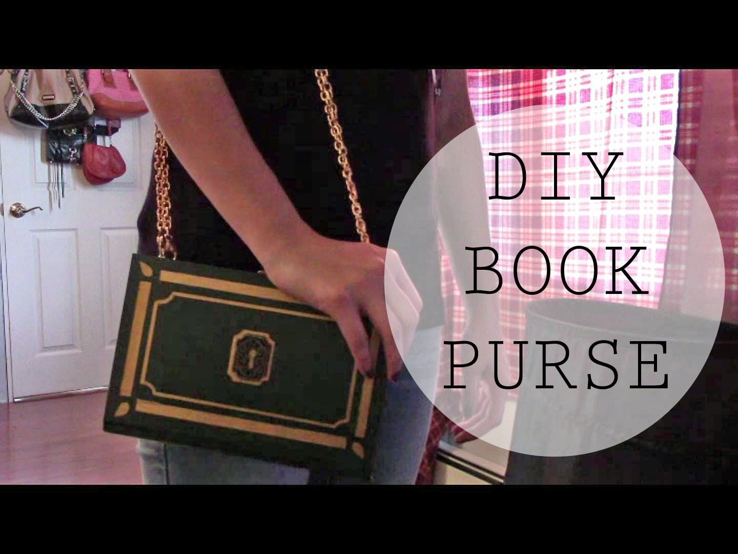 Check out my tutorial on how to turn a book into a book purse, clutch, and secret storage! It's cute, fashionable, and makes for a great gift for those book lovers!