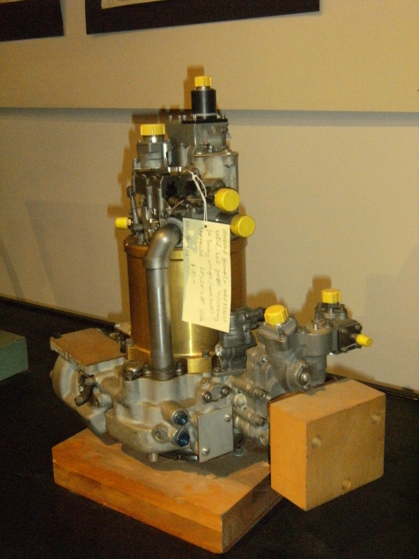 Woodward s main engine aircraft gas turbine control for the G E