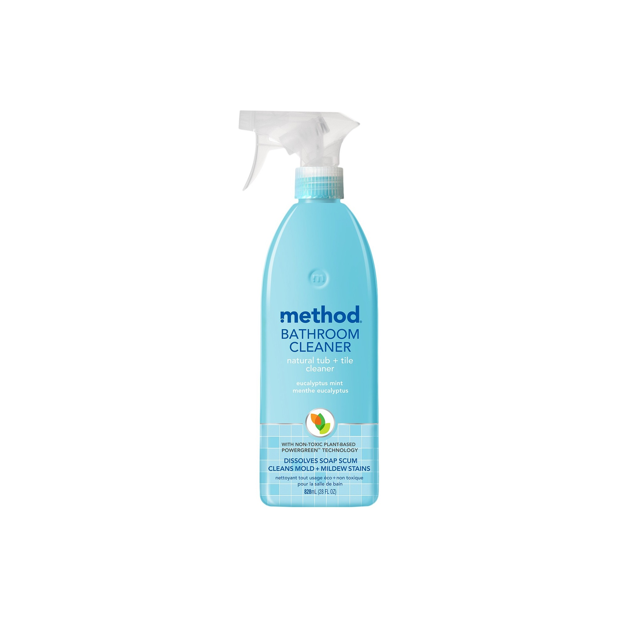 Method Cleaning Products Bathroom Cleaner Tub + Tile Eucalyptus Mint ...