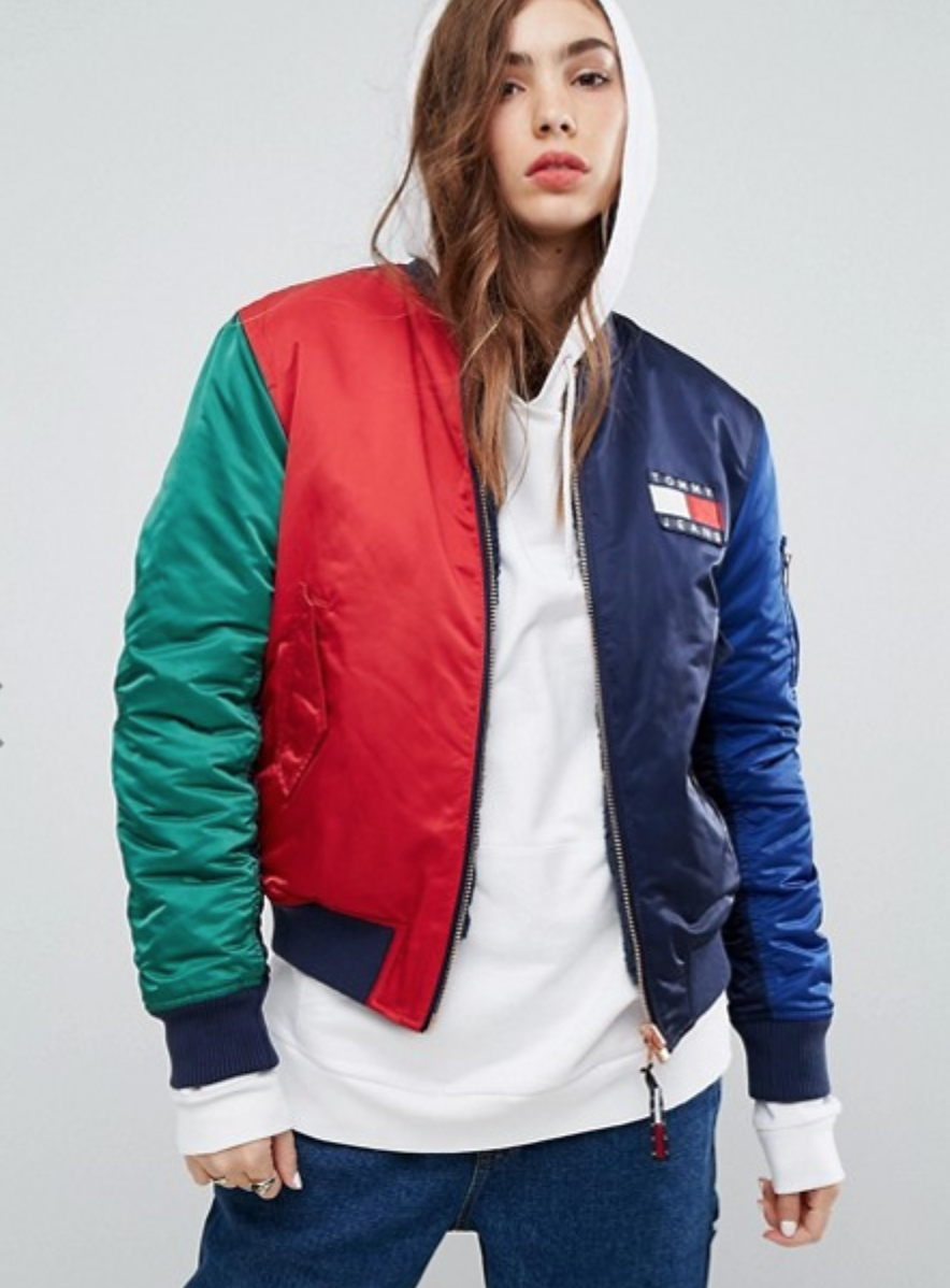 40129119f ToMMY HiLFiGER | clothes | Jackets, Bomber jacket, Outdoor coats