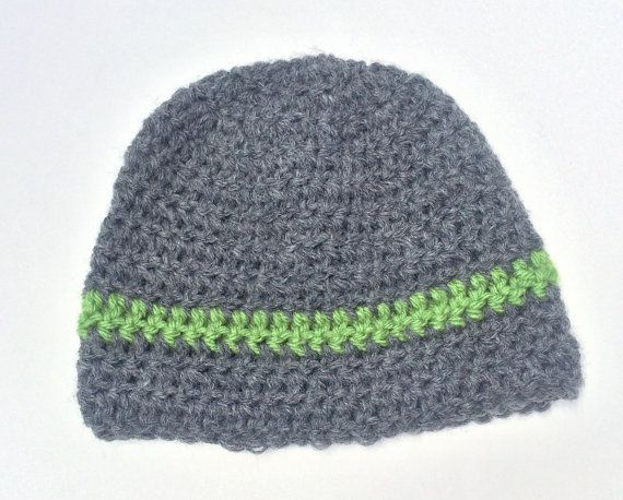 74bbc725ae7 Baby Boy Striped Beanie Hat