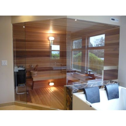 Custom sauna door with glass walls this sauna design is super clean custom sauna door with glass walls this sauna design is super clean and showcases the natural planetlyrics