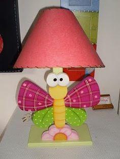 LAMPARAS EN COUNTRY | Manualidades, Lámparas para bebes