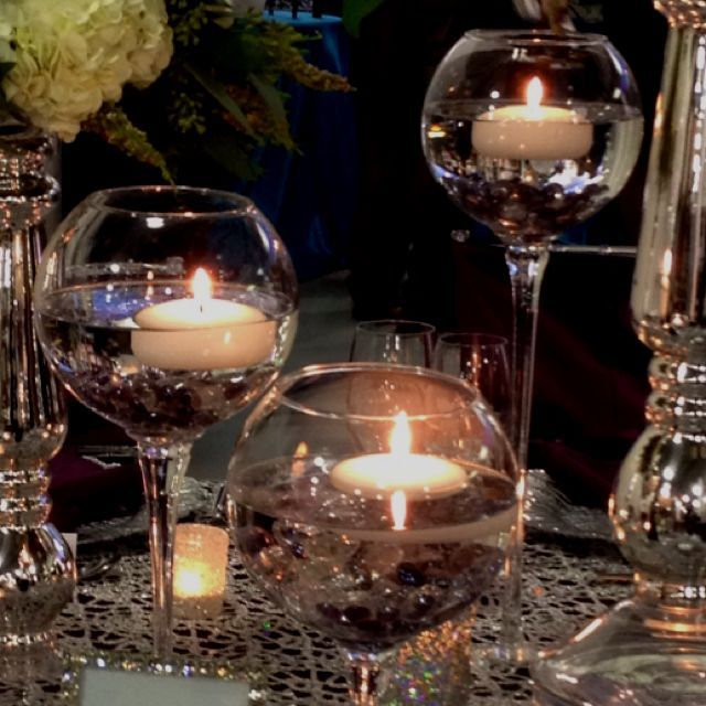 Wedding Reception Centerpieces Candles: Floating Candle Centerpiece - Google Search