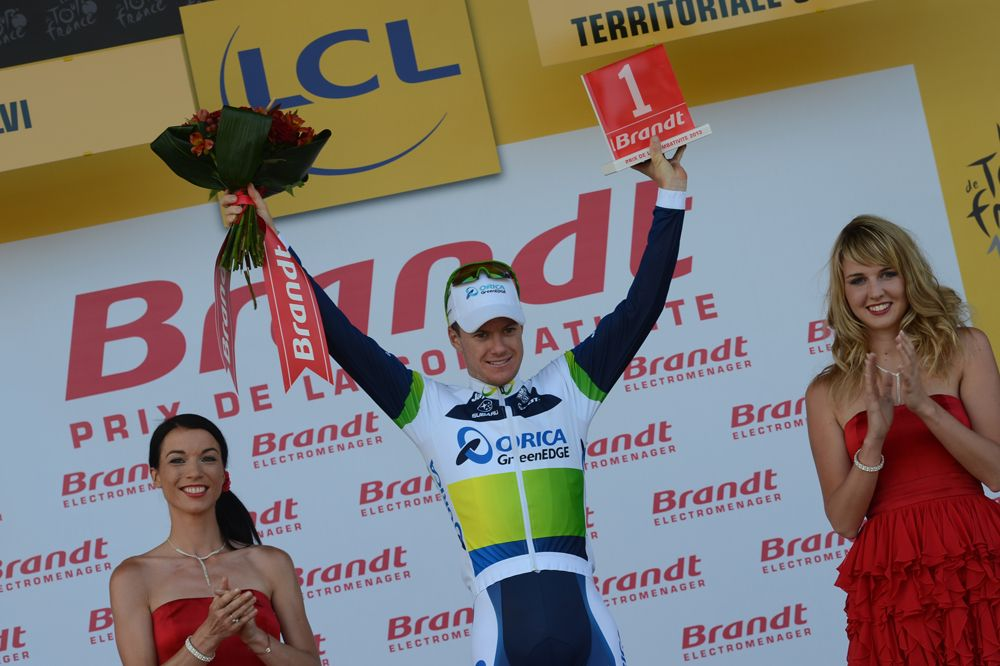 Well done Gerrans!! Stage 3 winner #tdf