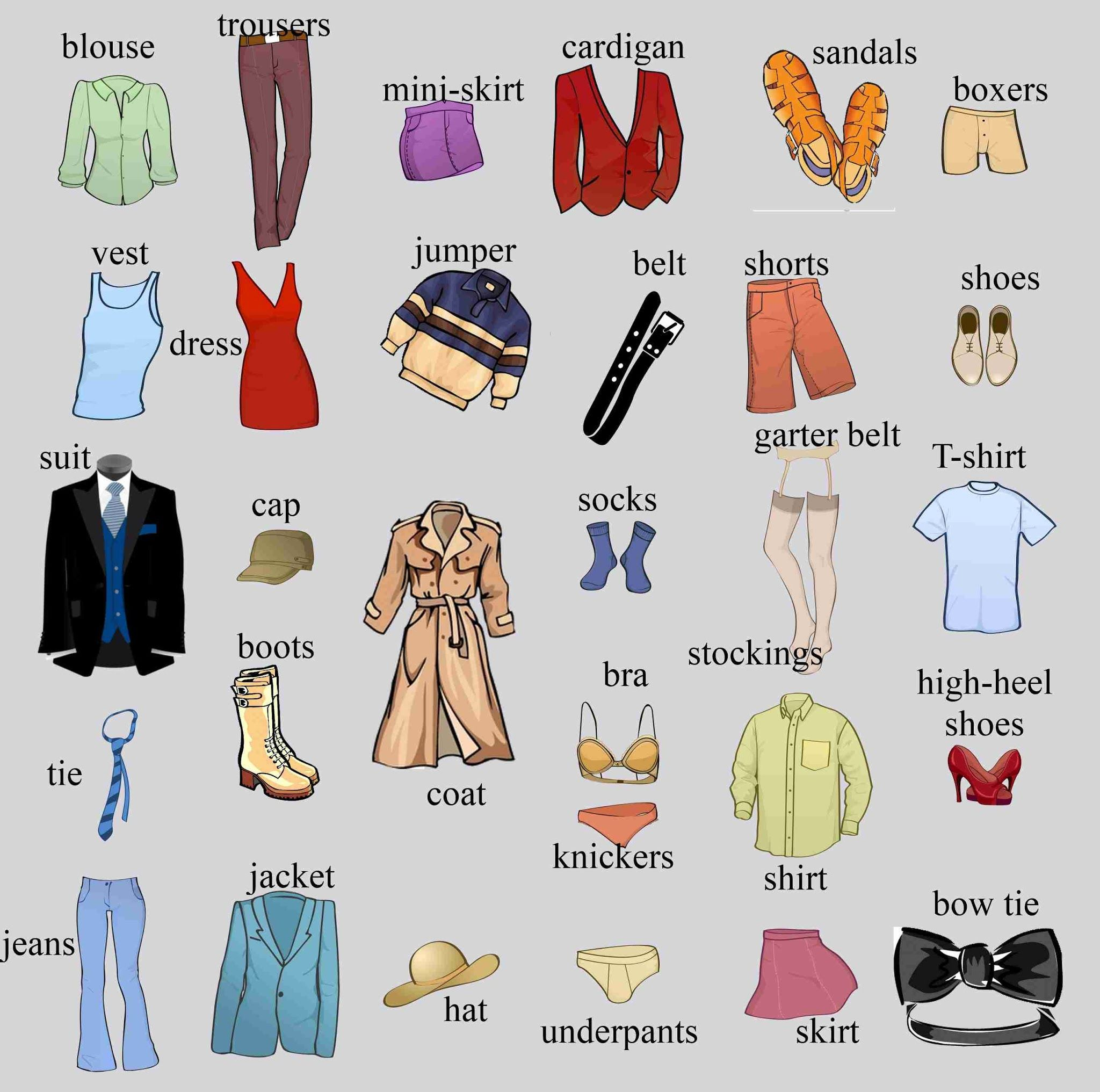 We All Wear Something From This List What Do You Wear