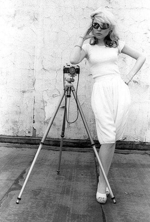 Debbie Harry photographed by Martyn Goddard, NYC,1978