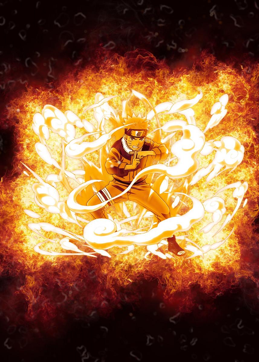 Naruto Wall Art - Metal Poster