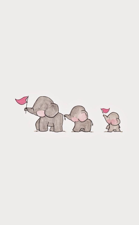 Cute Elephants In 2019 Wallpaper Iphone Cute Elephant