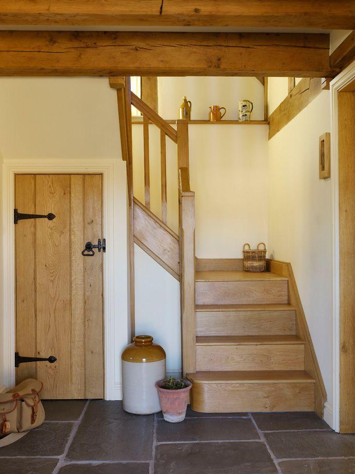 Cottages border oak oak framed houses oak framed for Hallway door ideas