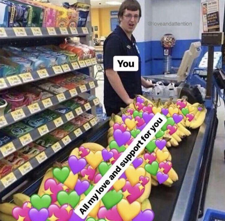 Me My Love And Support You Meme لم يسبق له مثيل الصور Tier3 Xyz