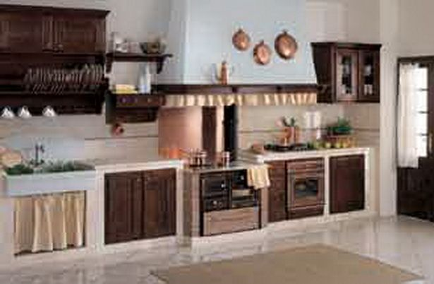 gemauerte k che haus im grzybowo gemauerte k che k che und vintage k che. Black Bedroom Furniture Sets. Home Design Ideas
