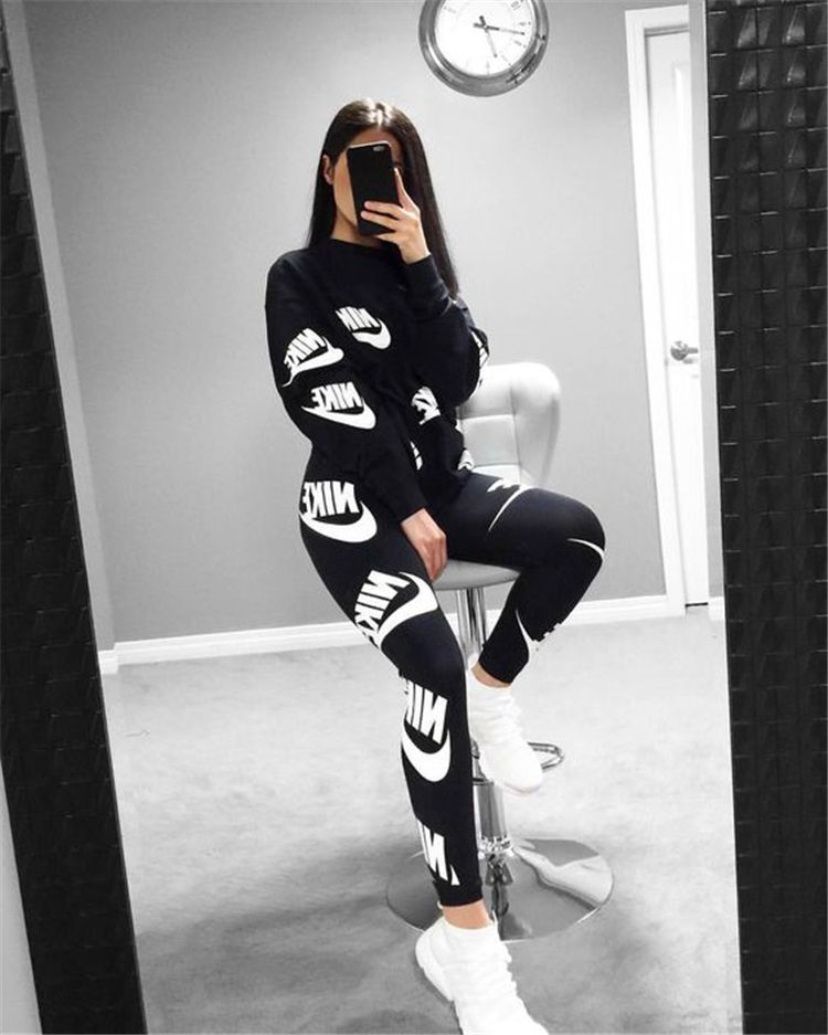 40 Casual And Fashionable Sports Outfits You Would Obsessed