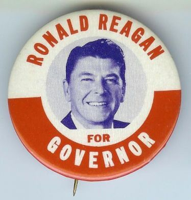 Image result for ronald reagan elected governor of california