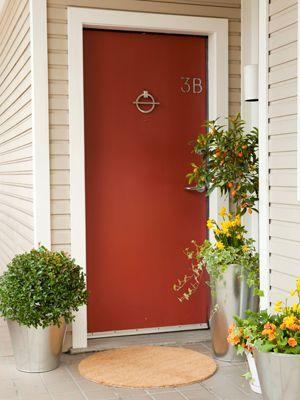 Front Door Orange Front Doors Door Color Front Door