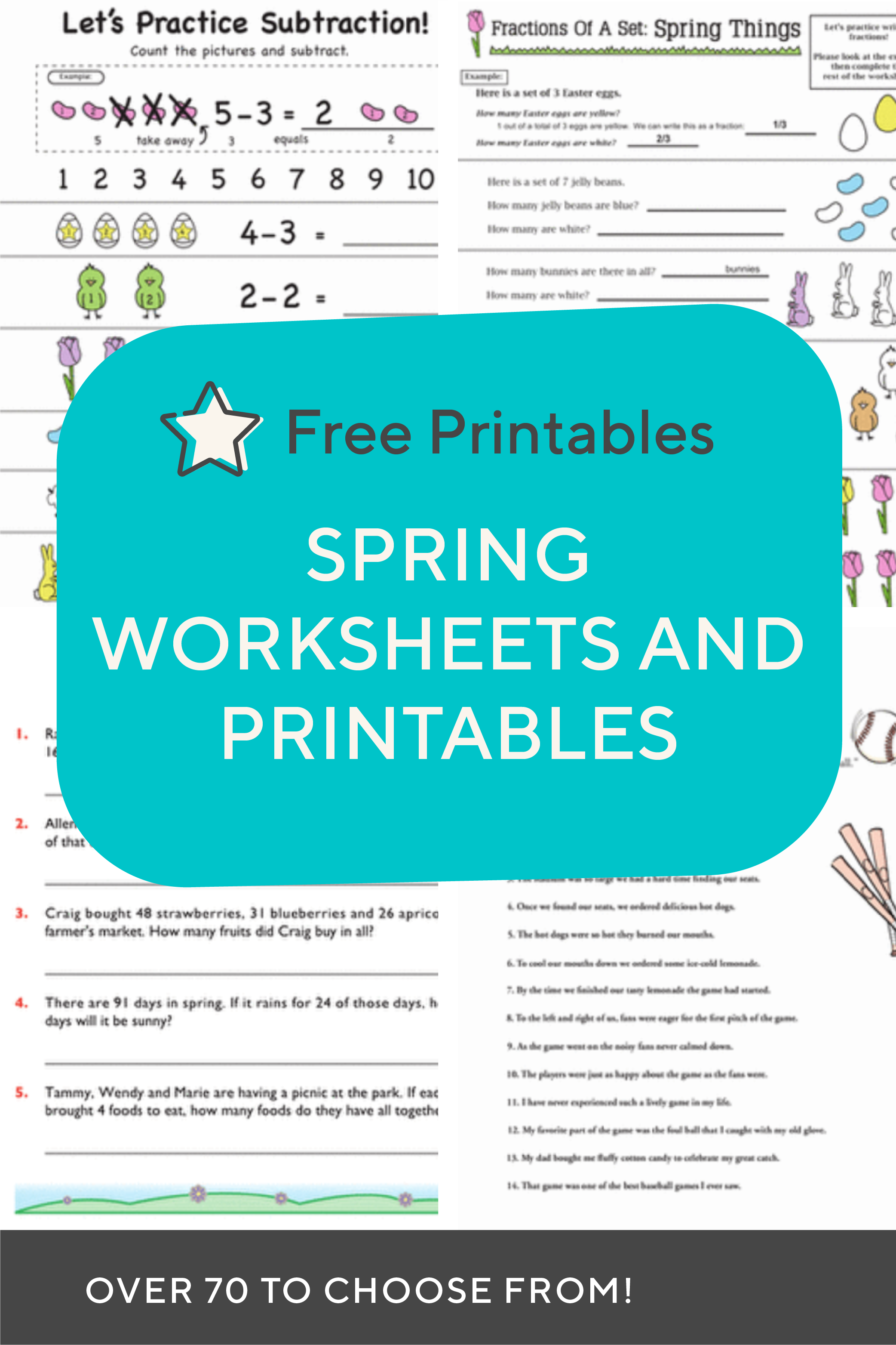 Download These Free Spring Themed Printables And