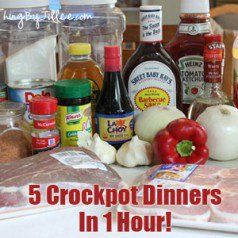 make ahead crockpot dinners
