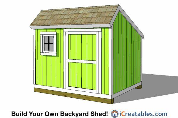 8x10 Shed Plans Diy Storage Shed Plans Building A Shed Shed Plans 8x10 Shed Plans Diy Shed Plans