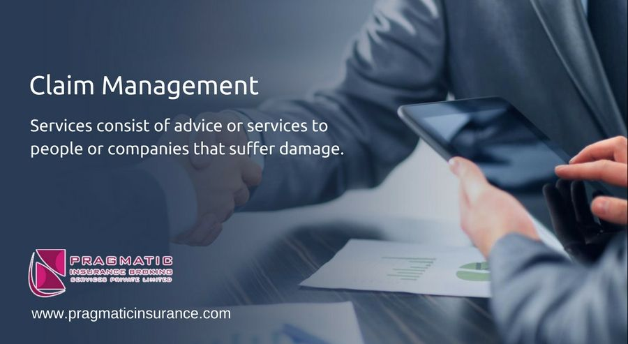 Claim Management Services Consist Of Advice Or Services To