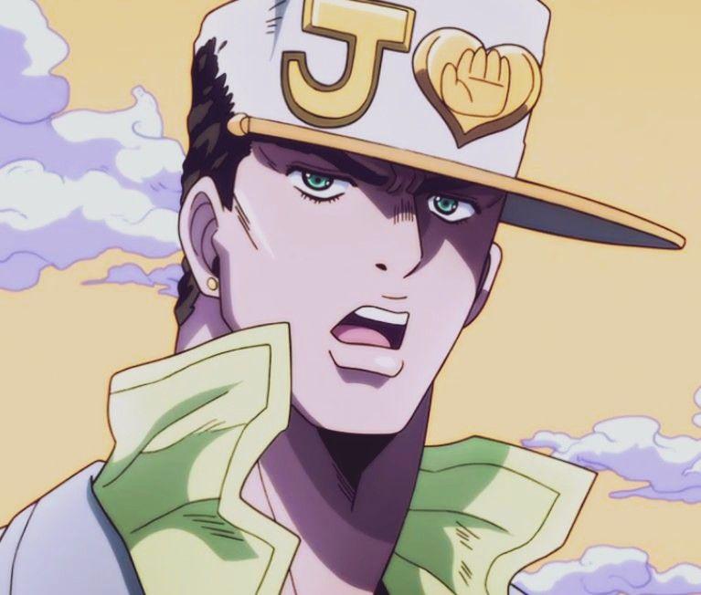 Jotaro Icon Jojo Anime Jojo Bizzare Adventure Jotaro Kujo