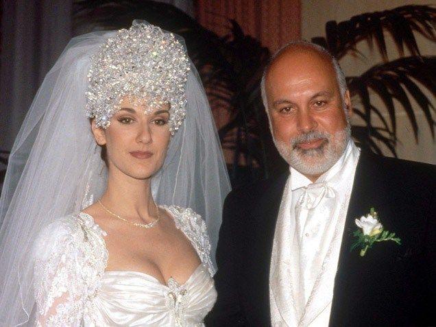 Celine Dion Bodas Famosas Famosos Fotos De Boda