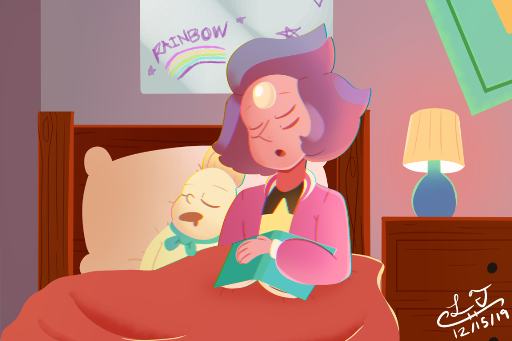 Rainbow Quartz 2.0 Even black birds need to rest! by LaviTavi on DeviantArt