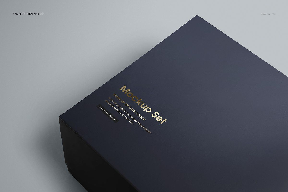Download Magnetic Gift Box Mockup Set Magnetic Gift Box Box Mockup Professional Business Card Design