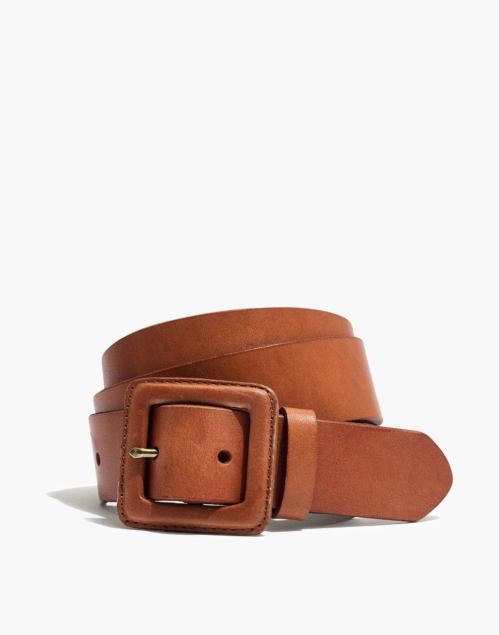 19a11c4582c Leather Covered Buckle Belt | 2444444444 | Belt buckles, Belt ...