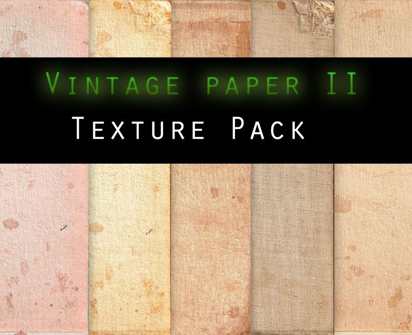 Vintage Paper Ii Texture Pack By Knald Deviantart Com On Deviantart Vintage Paper Textures Paper Texture Pack Paper Texture