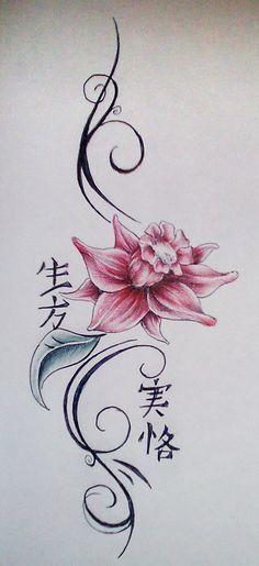 Pelles Tattoo Gallery Flower Tattoo By Steven Brandon Lily Flower Tattoos Flower Tattoo Flower Tattoos