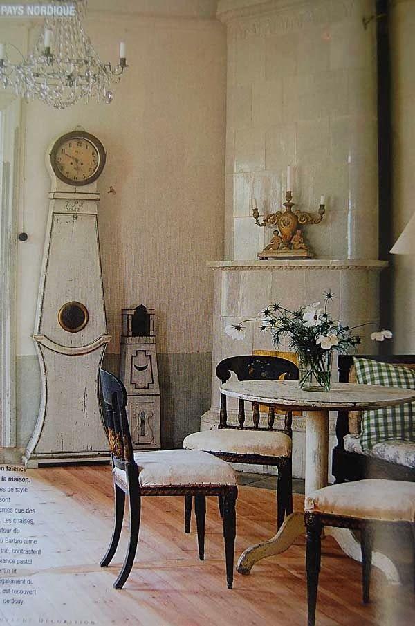 Meraviglioso french chic mora clock il mio sogno for Arredamento svedese