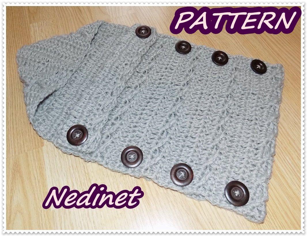 Crochet Pattern Crochet Baby Sleeping Bags Pattern Baby Cocoon 0 6