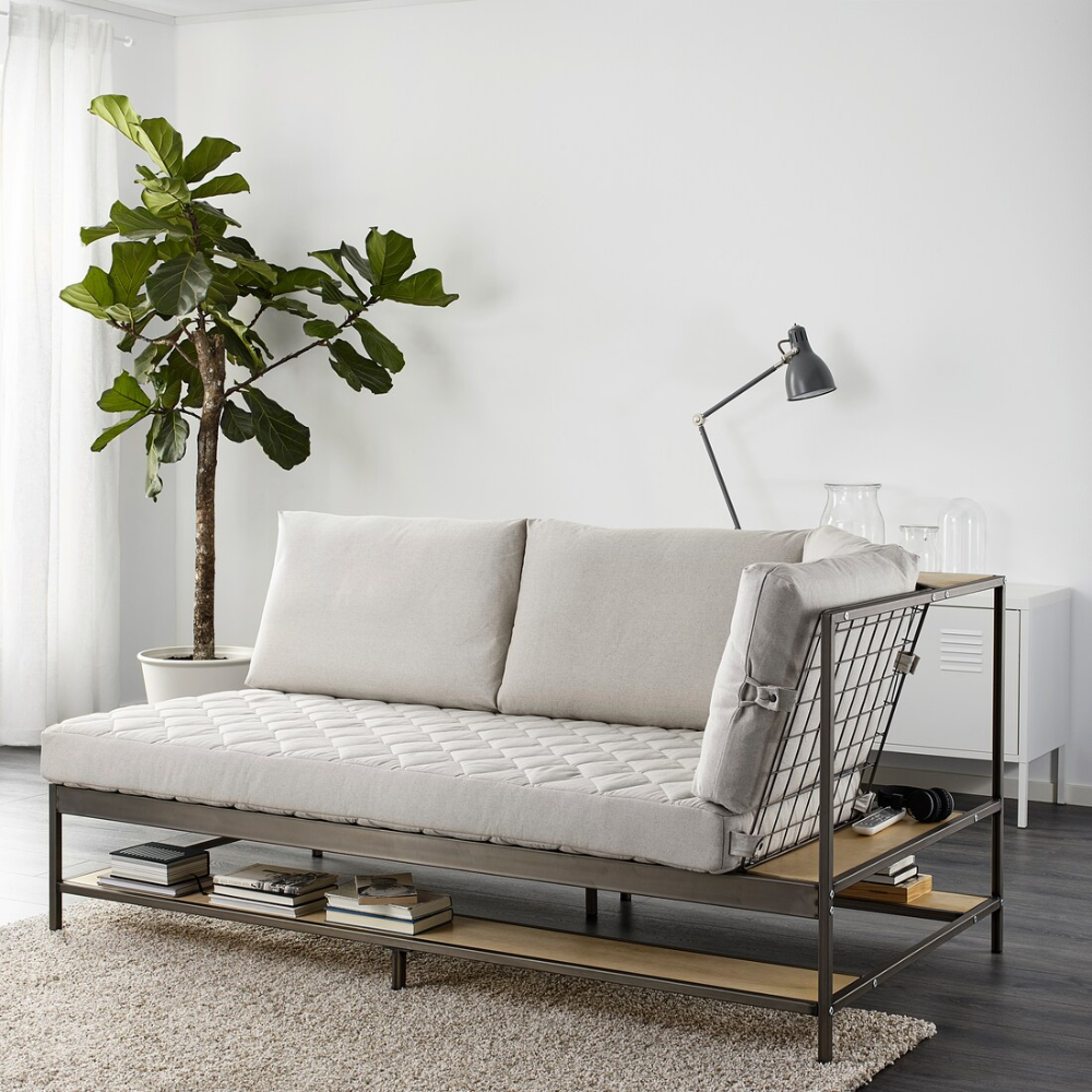 EKEBOL 3sits soffa, Katorp natur IKEA i 2020
