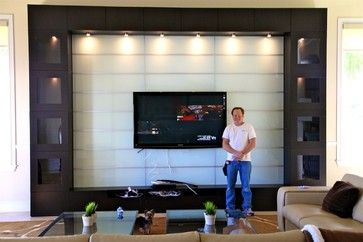 IKEA Besta Wall unit in Miami modern | Downstairs tv in 2019