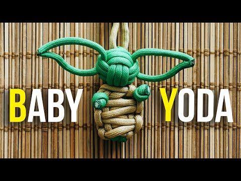 MANDALORIAN BABY YODA Grogu Star Wars Paracord Lego Keychain Every Day Carry