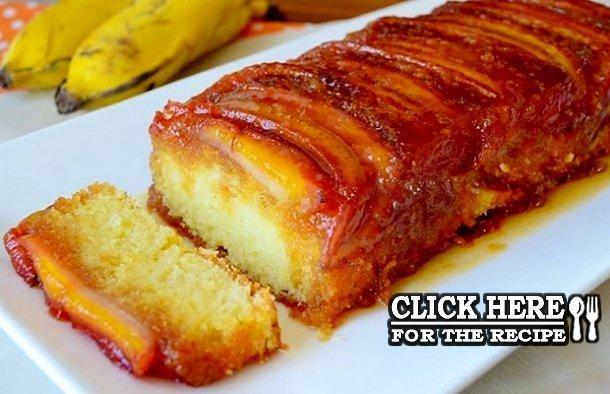 Portuguese Banana Caramelized Cake Recipe Portuguese Recipes