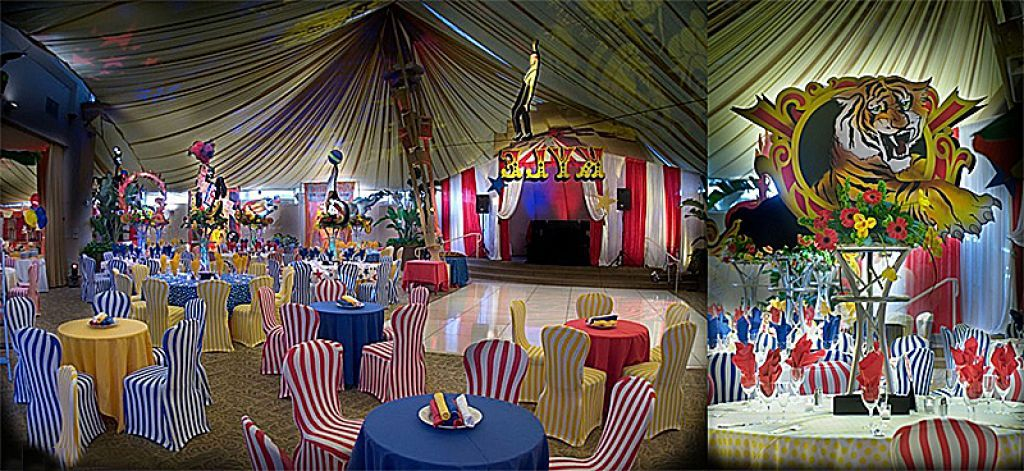 Carnival Theme Party for voksne relateret til Party Decorations Circus-3486