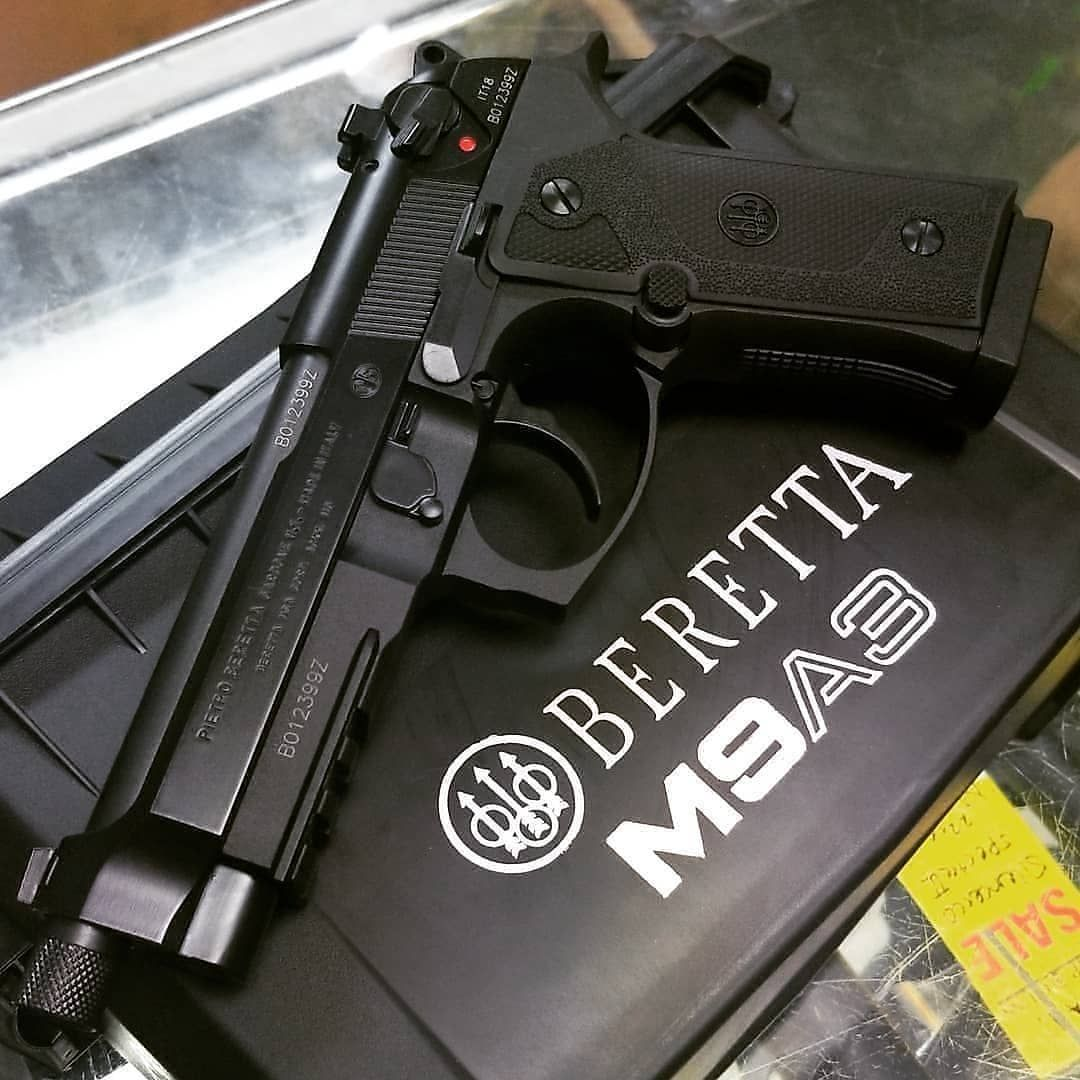 Beretta M9A3 9mm  CREDIT @joe_mmpguns | Beretta | Hand guns