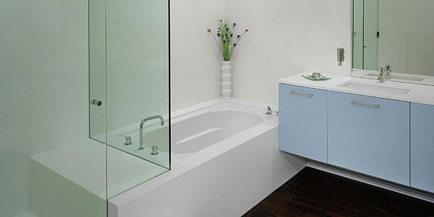 Designing a Bathroom for your Home with Corian® and Zodiaq® Home - badezimmer corian