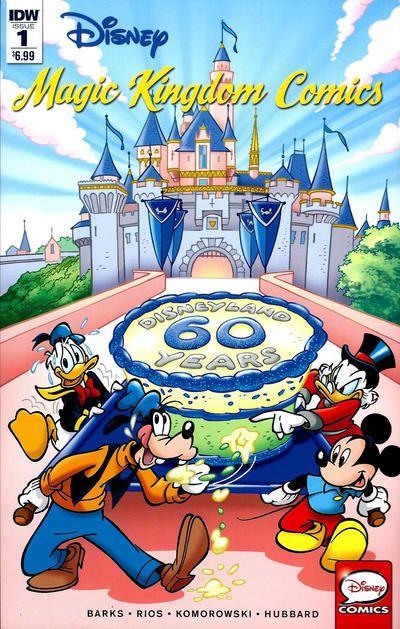 Cover for Disney Magic Kingdom Comics (IDW, 2016 series) #1