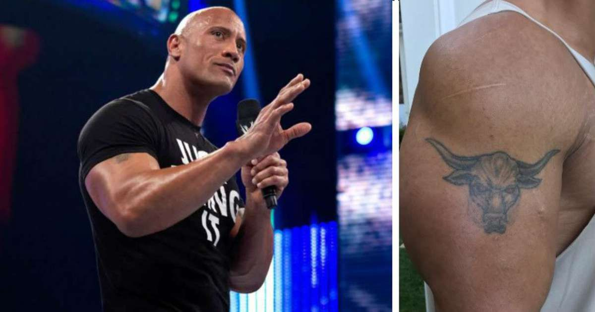 The Rock Ditches Infamous Brahma Bull Tattoo With Insane New Design