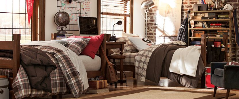 Dorm Room Ideas For Guys  PBteen  aah, youth  ~ 072157_Dorm Room Themes For Guys