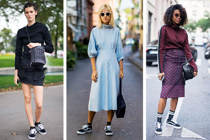The Old School Sneakers Everyone's Wearing at Fashion Week